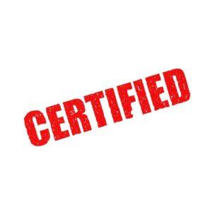 Certification d'oeuvre d'art